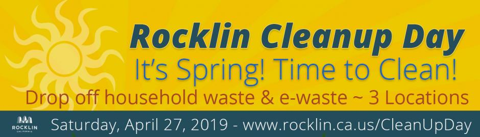 Rocklin Cleanup Day