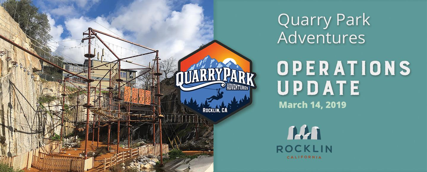 Quarry Park Adventures Operations Update