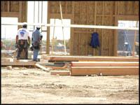 photo of inspectors on building site